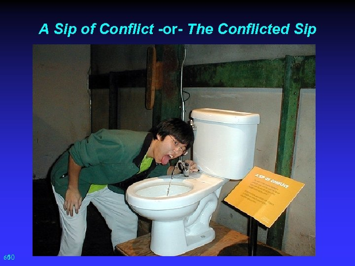 A Sip of Conflict -or- The Conflicted Sip 60 60
