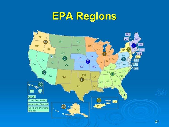EPA Regions 81
