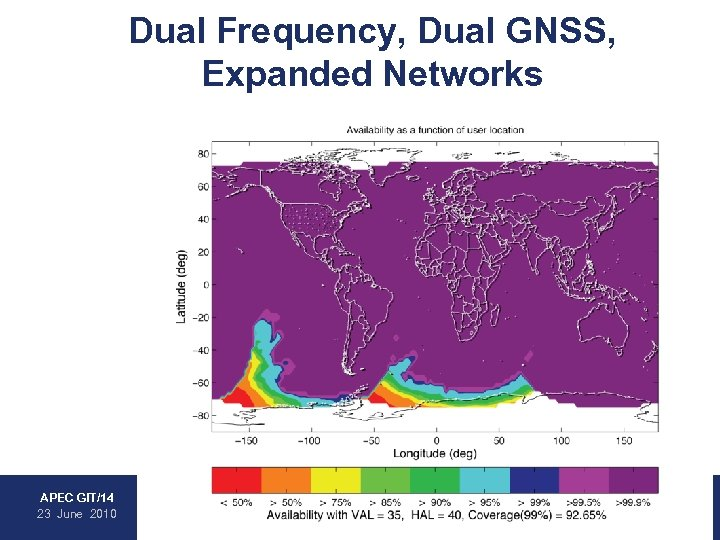 Dual Frequency, Dual GNSS, Expanded Networks • WAAS • EGNOS • MSAS • GAGAN