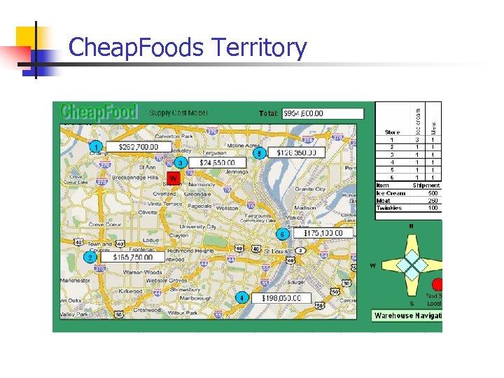 Cheap. Foods Territory
