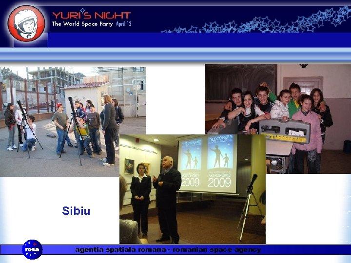 Sibiu agentia spatiala romana - romanian space agency