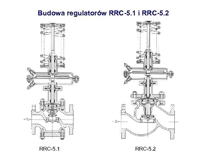 Budowa regulatorów RRC-5. 1 i RRC-5. 2 RRC-5. 1 RRC-5. 2