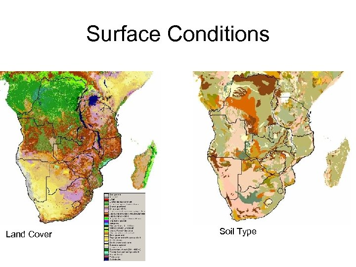 Surface Conditions Land Cover Soil Type