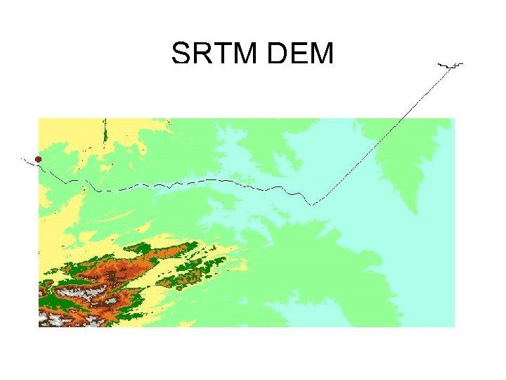 SRTM DEM