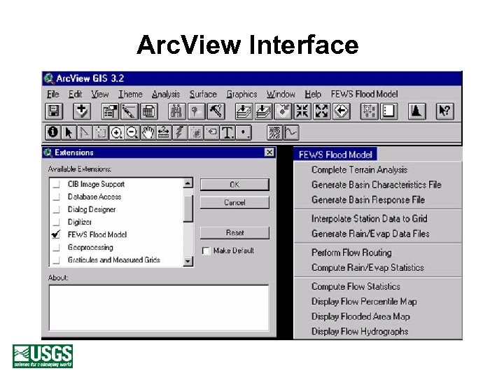 Arc. View Interface