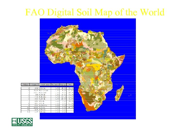 FAO Digital Soil Map of the World