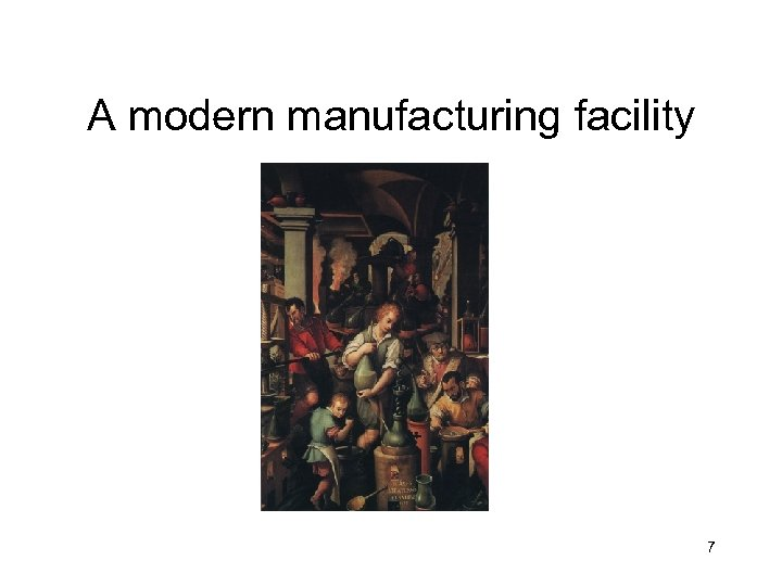 A modern manufacturing facility 7