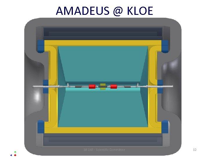 AMADEUS @ KLOE 38 LNF - Scientific Committee 12
