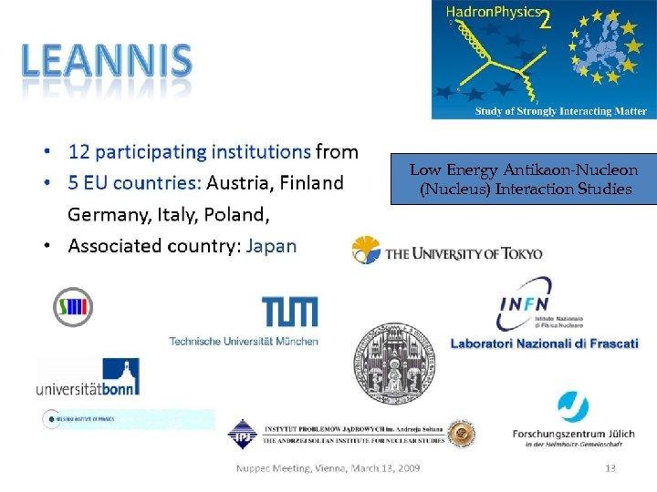 Low Energy Antikaon-Nucleon (Nucleus) Interaction Studies