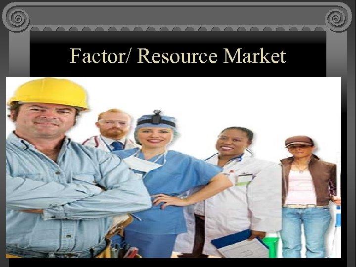 Factor/ Resource Market