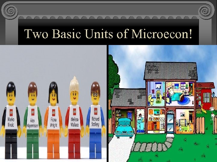 Two Basic Units of Microecon!