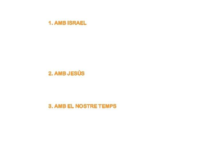 1. AMB ISRAEL Aquest és un dels més bells poemes de la literatura universal: