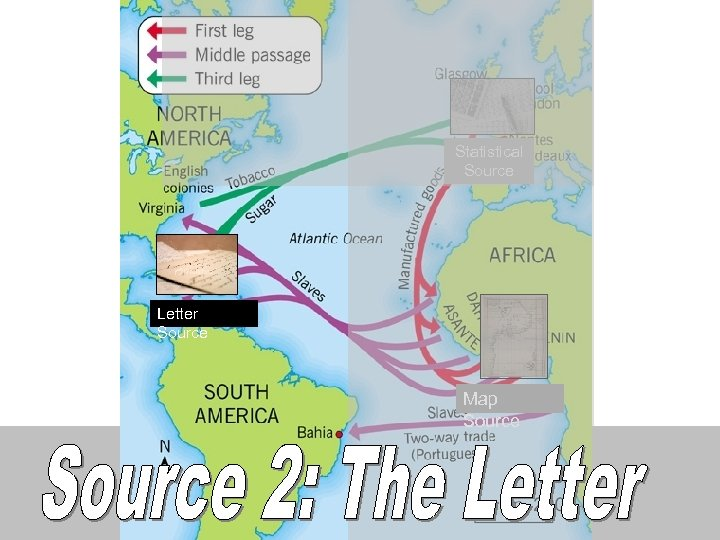 Statistical Source Letter Source Map Source