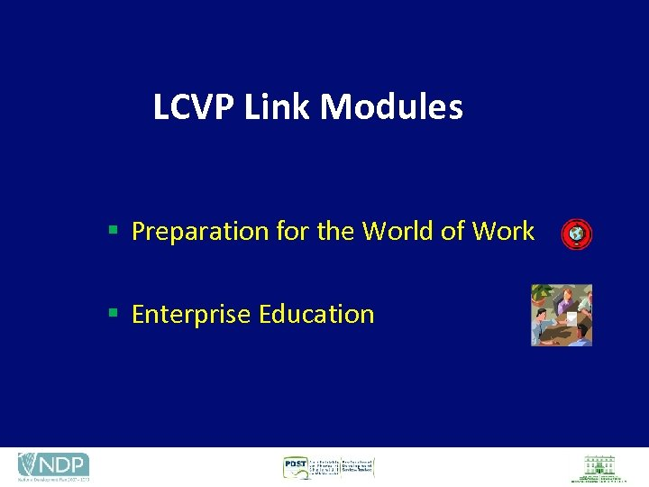 LCVP Link Modules § Preparation for the World of Work § Enterprise Education