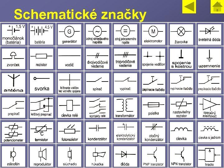 Schematické značky 5
