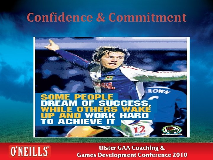 Confidence & Commitment