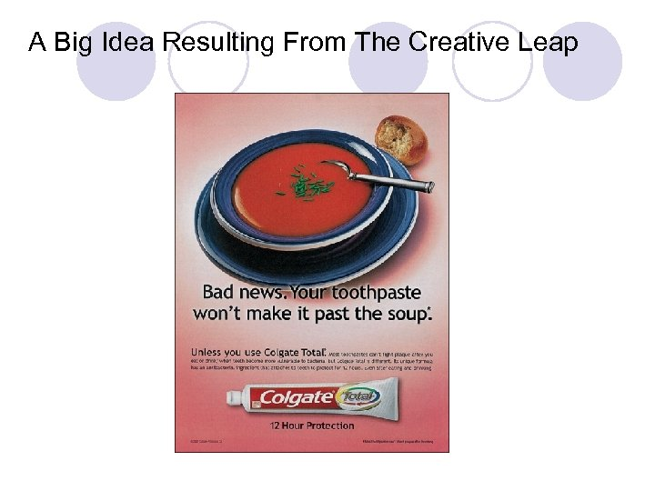 A Big Idea Resulting From The Creative Leap