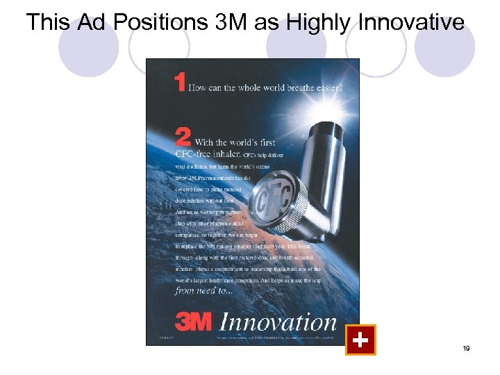 This Ad Positions 3 M as Highly Innovative + 19