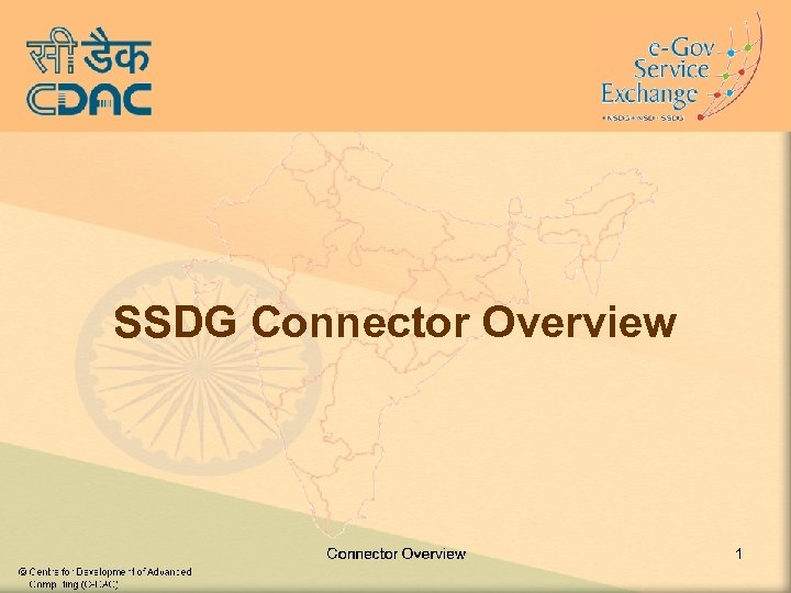 SSDG Connector Overview 1