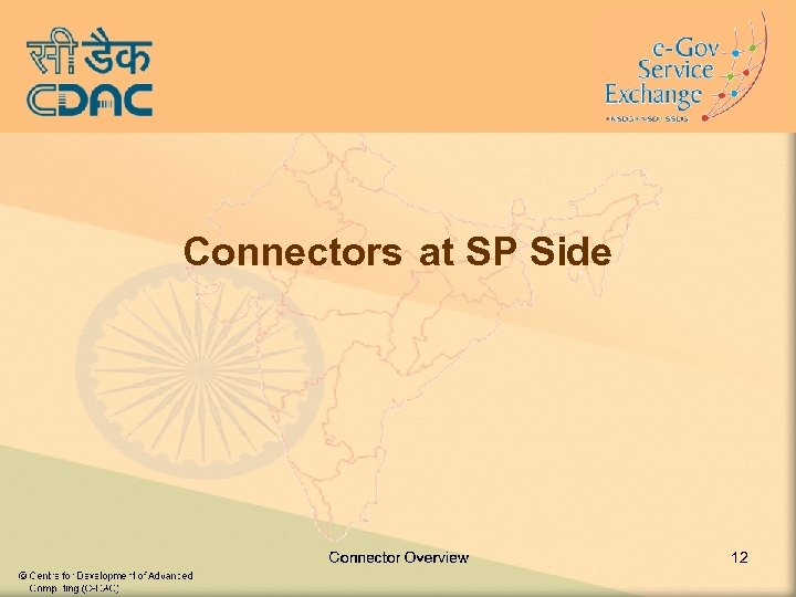 Connectors at SP Side 12