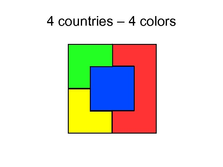 4 countries – 4 colors
