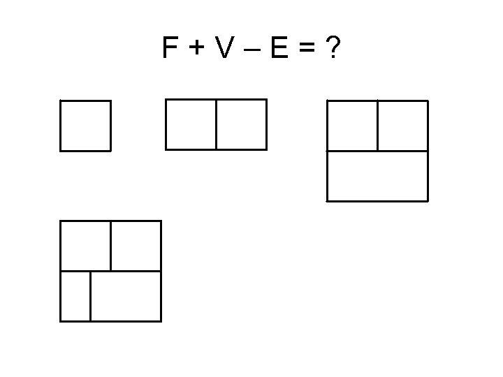 F+V–E=?