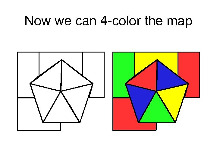 Now we can 4 -color the map