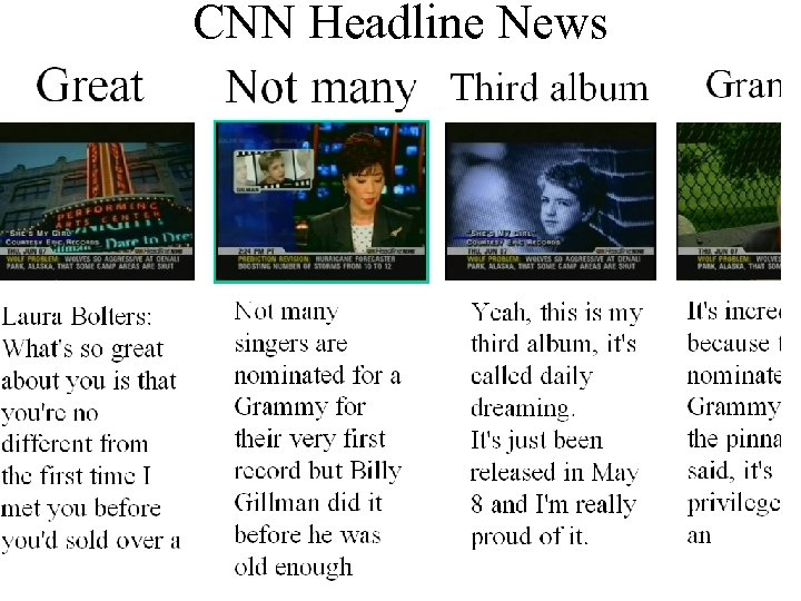 CNN Headline News ズームアウト