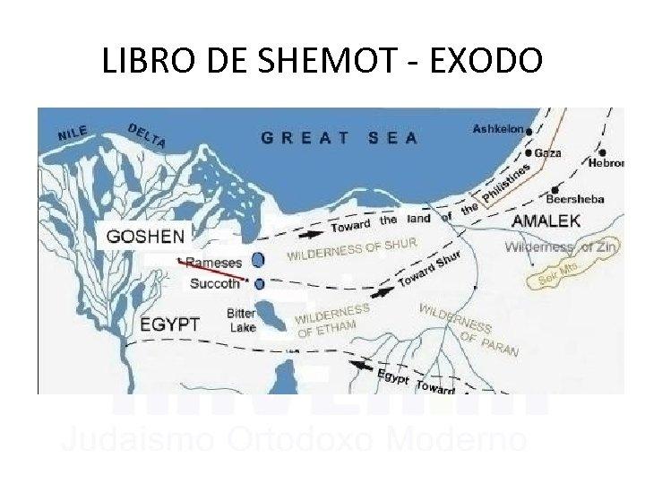 LIBRO DE SHEMOT - EXODO