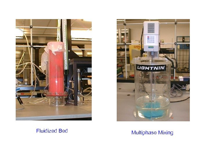 Fluidized Bed Multiphase Mixing