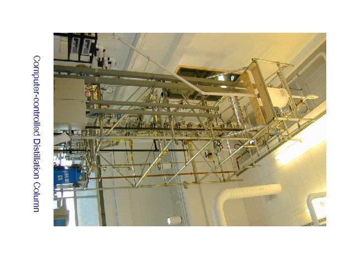 Computer-controlled Distillation Column