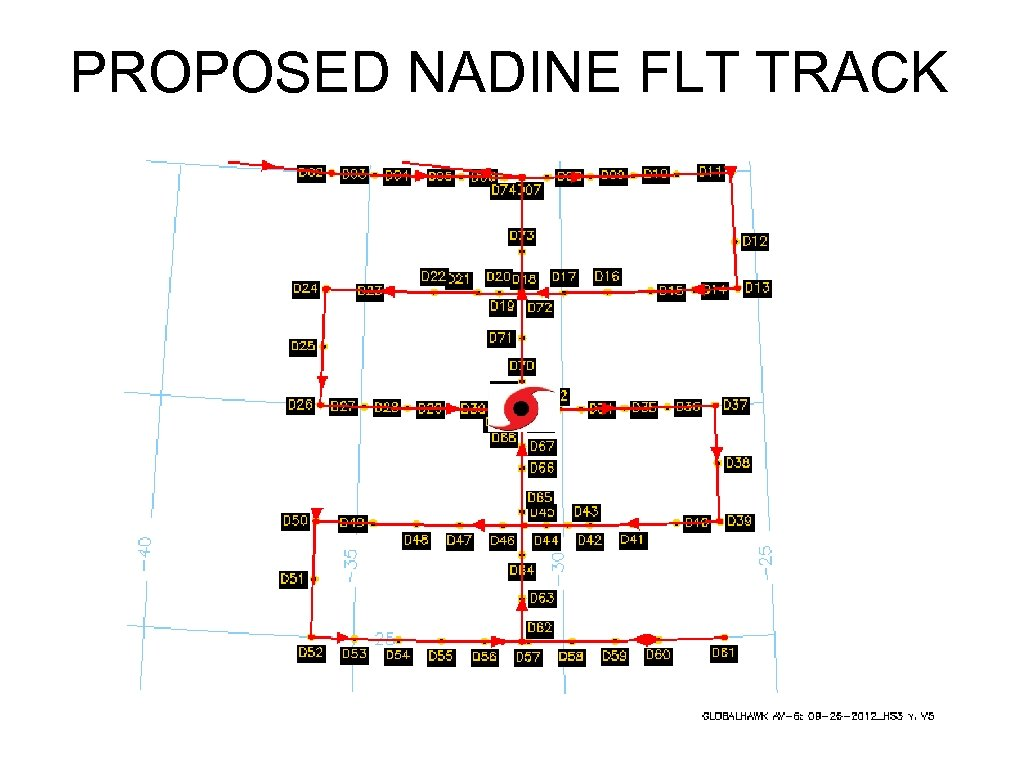 PROPOSED NADINE FLT TRACK