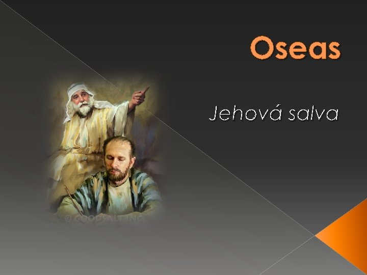 Oseas Jehová salva