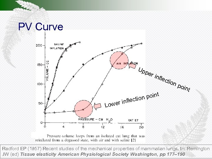 PV Curve Upp nfle oin tion p lec inf Lower er i ctio t