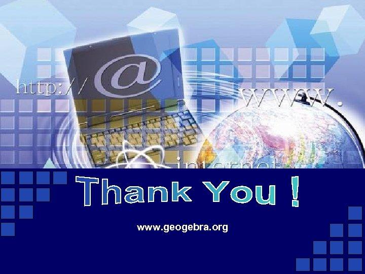 www. geogebra. org