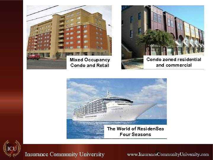 Mixed Occupancy Condo and Retail Condo zoned residential and commercial The World of Residen.