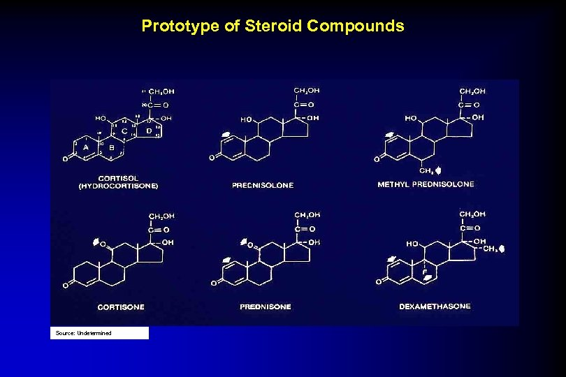 Prototype of Steroid Compounds Source: Undetermined