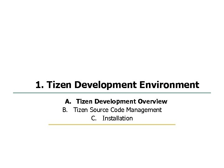 1 75 Development Environment and Platform Build SKKU