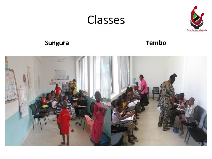 Classes Sungura Tembo