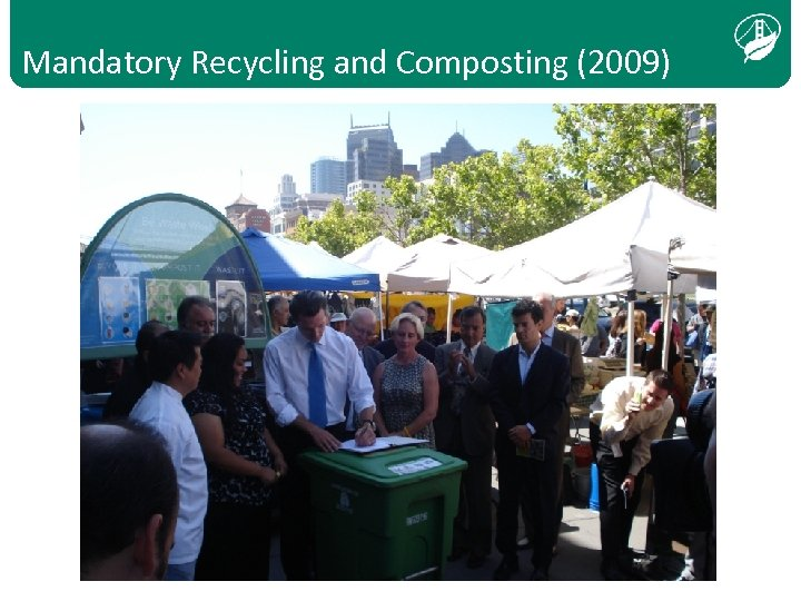 Mandatory Recycling and Composting (2009)