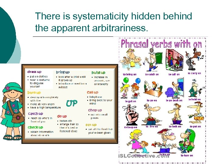 There is systematicity hidden behind the apparent arbitrariness.