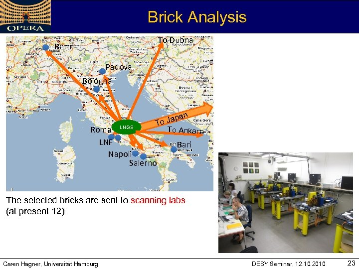 Brick Analysis To Dubna Bern Padova Bologna pan o Ja T To Ankara Roma