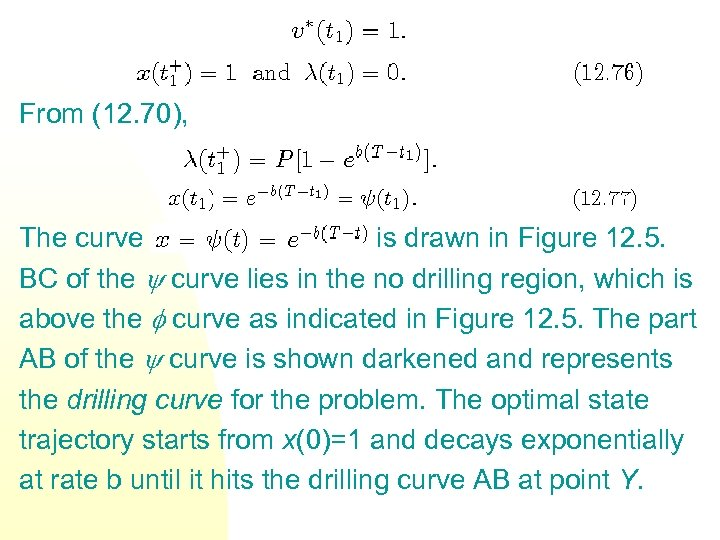 From (12. 70), The curve is drawn in Figure 12. 5. BC of the