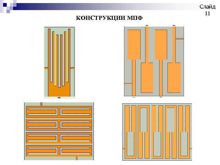 КОНСТРУКЦИИ МПФ Слайд 11