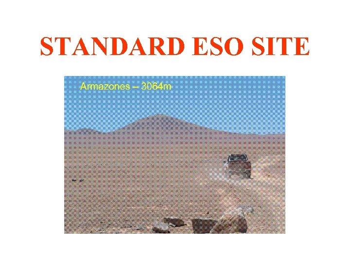 STANDARD ESO SITE