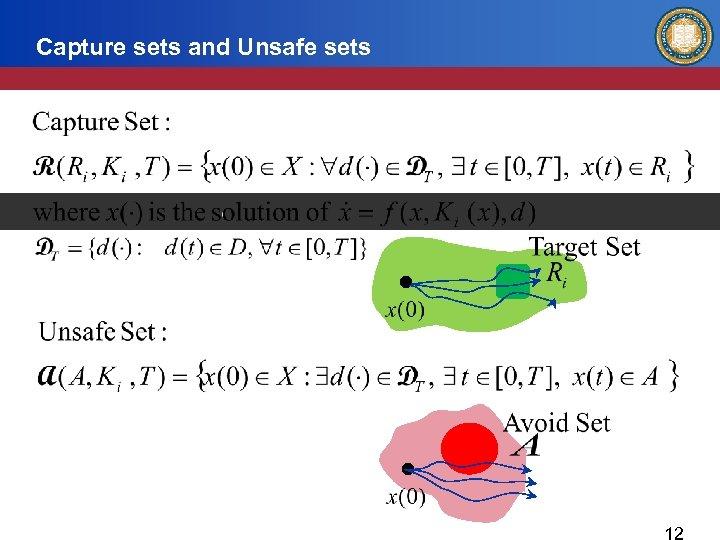 Capture sets and Unsafe sets