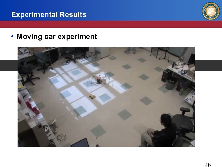 Experimental Results • Moving car experiment
