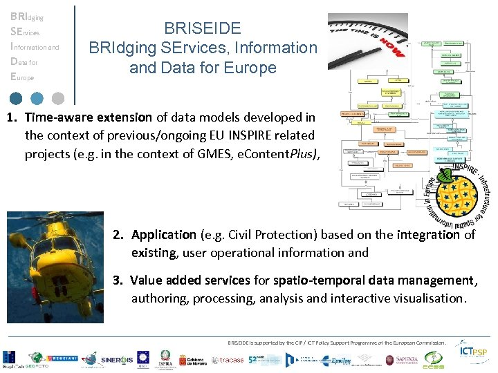 BRIdging SErvices Information and Data for Europe BRISEIDE BRIdging SErvices, Information and Data for