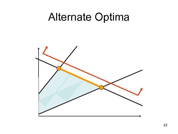Alternate Optima 42