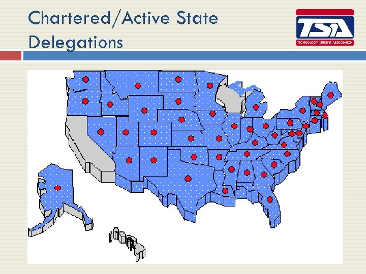 Chartered/Active State Delegations